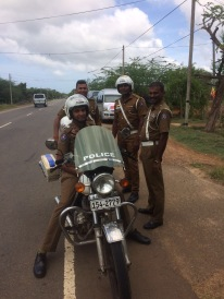 """VIP"" police escort was a pleasant surprise - thank you Chandrike"